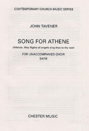 Song For Athene John Tavener Partition Chœur - laflutedepan