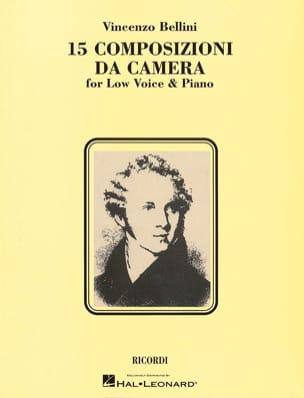 15 Composizioni Da Camera - Voix Grave BELLINI Partition laflutedepan