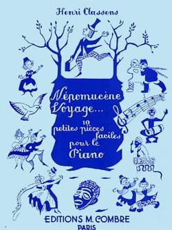 Népomucène Voyage - CLASSENS - Partition - Piano - laflutedepan.com