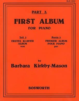First Album For Piano Part 3 Barbara Kirkby-Mason laflutedepan