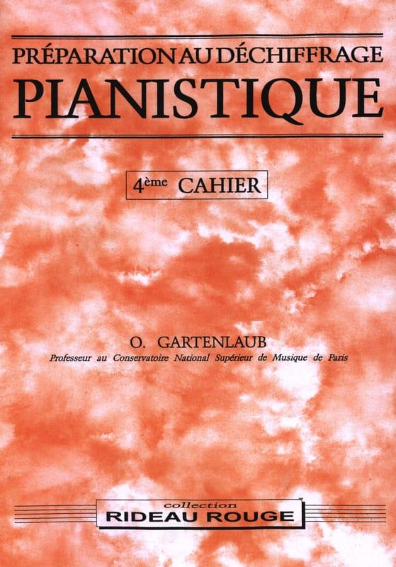 Préparation Au Déchiffrage Pianistique Volume 4 - laflutedepan.com