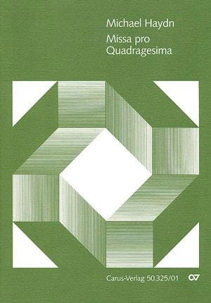 Missa pro Quadragesima MH551 - Michael HAYDN - laflutedepan.com