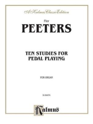 10 Studies For Pedal-Playing - Flor Peeters - laflutedepan.com