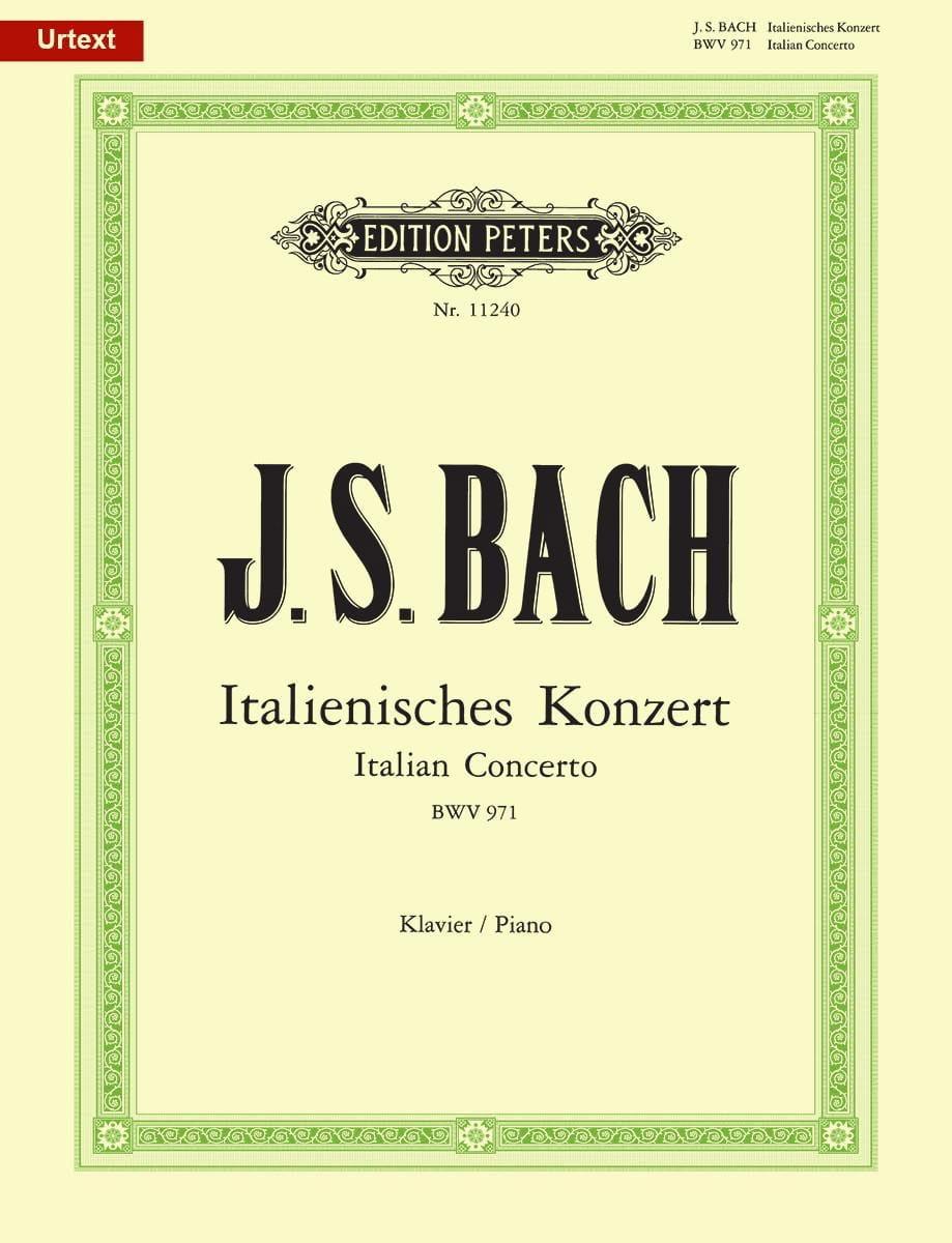 Concerto Italien Bwv 971 - BACH - Partition - Piano - laflutedepan.com