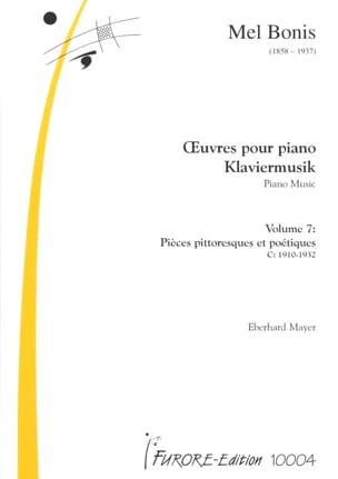Oeuvres Pour Piano Volume 7 Mel Bonis Partition Piano - laflutedepan