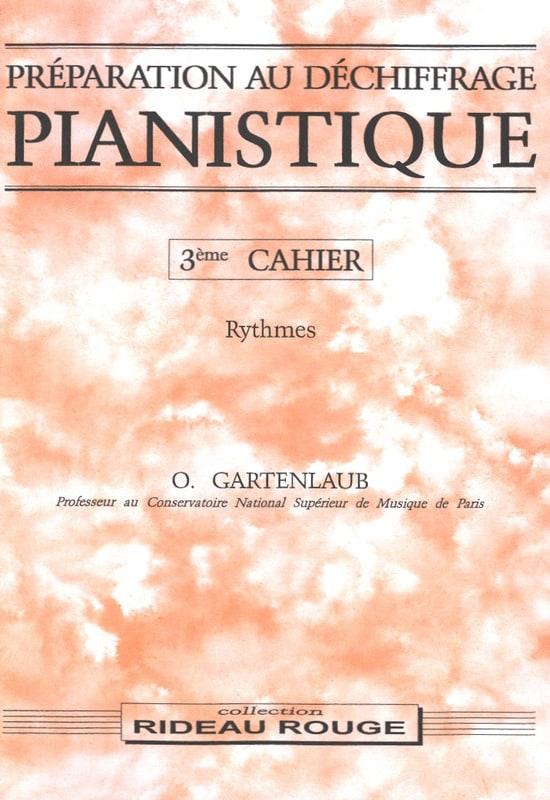 Préparation Au Déchiffrage Pianistique Volume 3 - laflutedepan.com