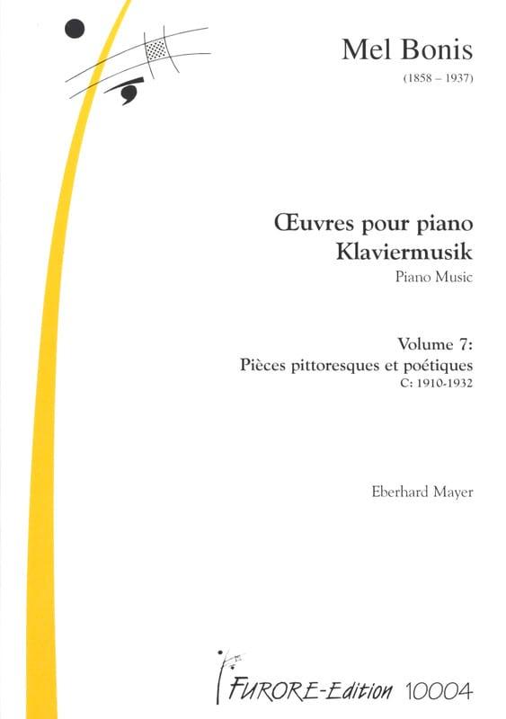 Oeuvres Pour Piano Volume 7 - Mel Bonis - Partition - laflutedepan.com