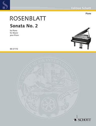 Sonata N°. 2 - Alexander Rosenblatt - Partition - laflutedepan.com