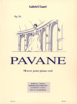 Pavane Opus 50. Piano FAURÉ Partition Piano - laflutedepan