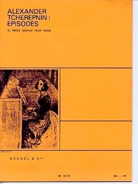 Episodes Alexandr Tcherepnine Partition Piano - laflutedepan