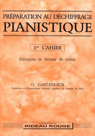 Préparation Au Déchiffrage Pianistique Volume 1 laflutedepan