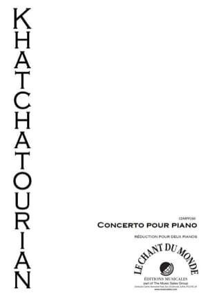 Concerto En Ré Bémol Majeur - KHATCHATURIAN - laflutedepan.com