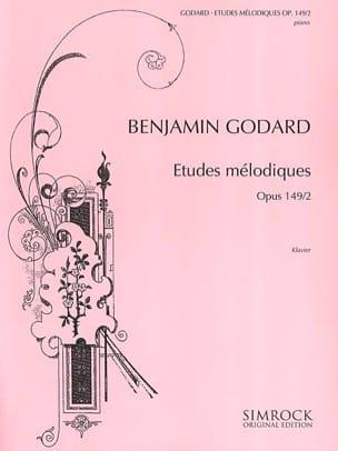 Etudes Mélodiques Op. 149 Vol 2 Benjamin Godard Partition laflutedepan