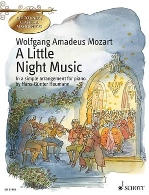 A little Night Music - Sérénade KV 525 MOZART Partition laflutedepan