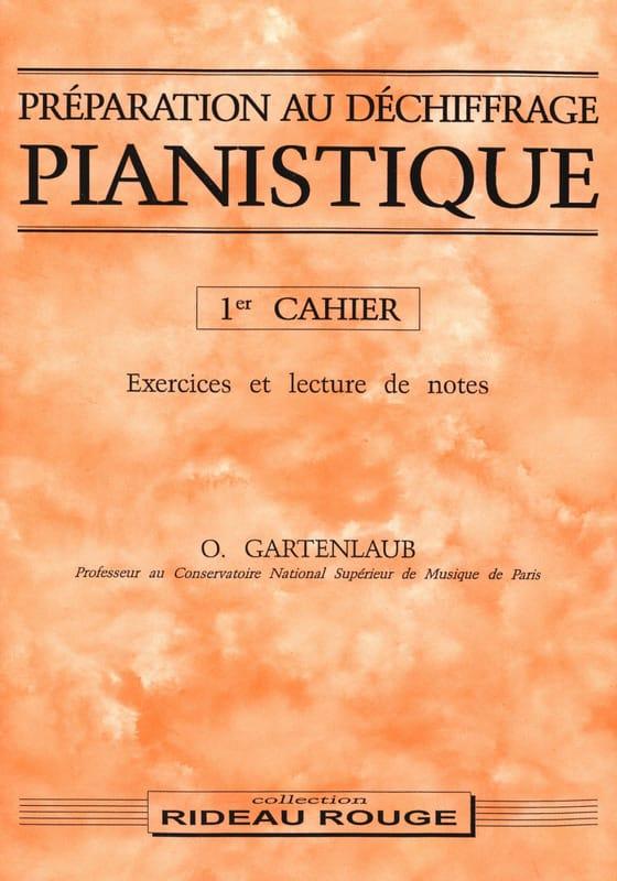 Préparation Au Déchiffrage Pianistique Volume 1 - laflutedepan.com