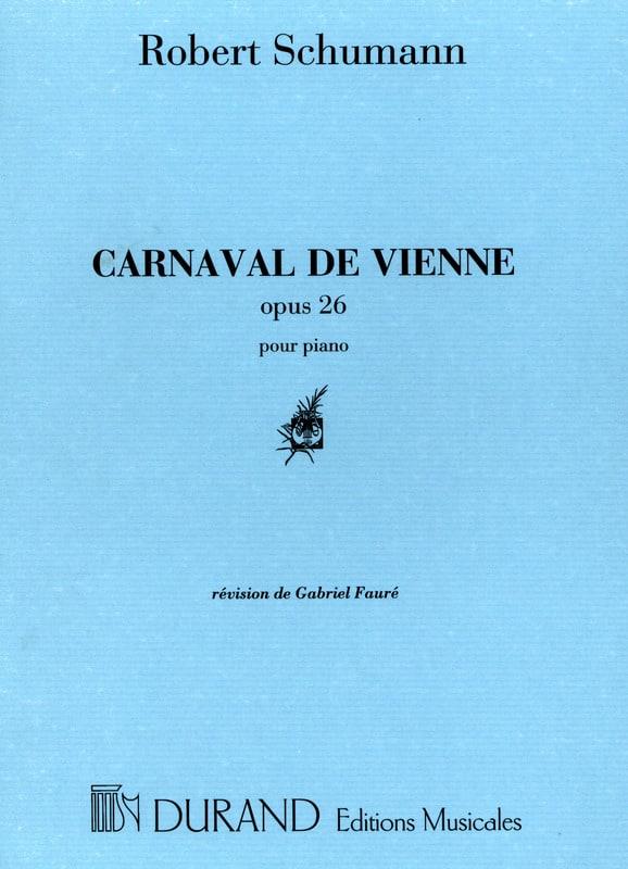 Carnaval de Vienne Opus 26 - SCHUMANN - Partition - laflutedepan.com