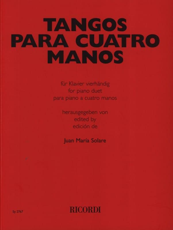 Tangos Para Cuatro Manos - Partition - Piano - laflutedepan.com