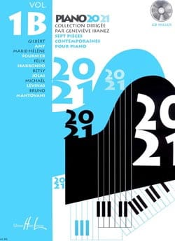 Piano 20-21 Volume 1B genevieve Ibanez Partition Piano - laflutedepan