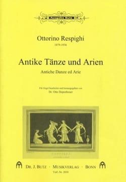 Antiche Danze ed Arie RESPIGHI Partition Orgue - laflutedepan