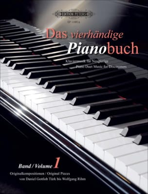 Das Pianobuch Volume 1. 4 Mains Partition Piano - laflutedepan