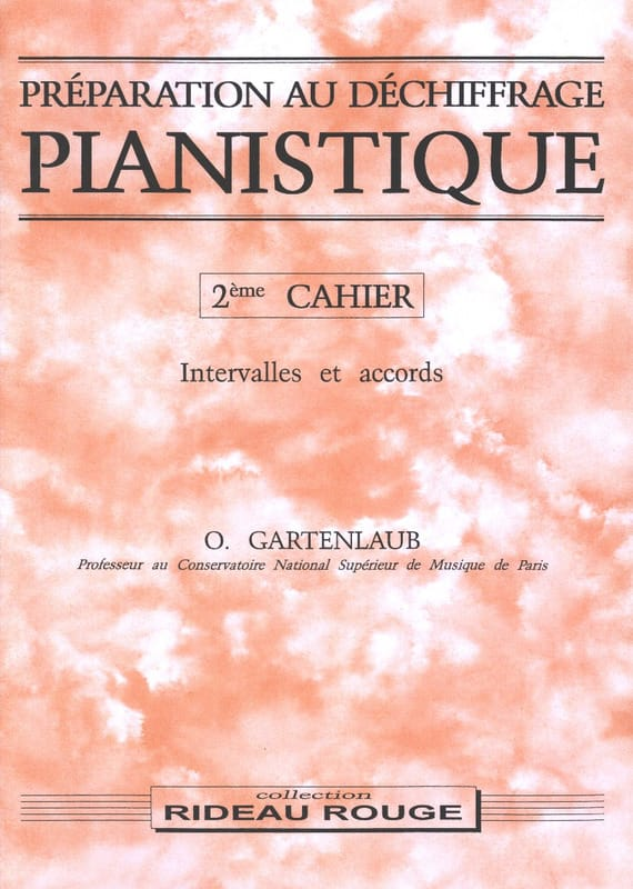 Préparation Au Déchiffrage Pianistique Volume 2 - laflutedepan.com