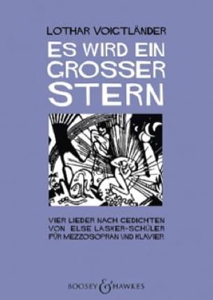 Es wird ein grosser Stern - Lothar Voigtländer - laflutedepan.com