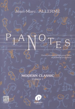 Pianotes Modern Classic Volume 1 Jean-Marc Allerme laflutedepan