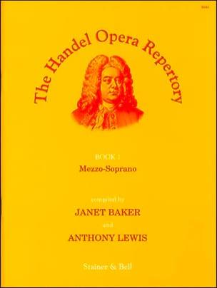 Opera Repertory Book 1. Mezzo HAENDEL Partition Opéras - laflutedepan