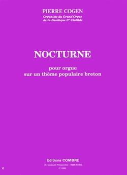 Nocturne pour orgue Pierre Cogen Partition Orgue - laflutedepan