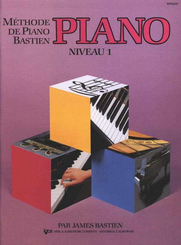 Méthode de Piano Bastien - Niveau 1 - BASTIEN - laflutedepan.com