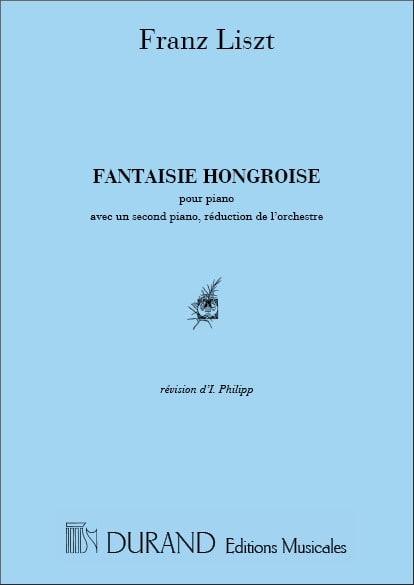 Fantaisie Hongroise. 2 pianos - LISZT - Partition - laflutedepan.com