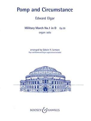 Pomp & Circumstance Opus 39-1 ELGAR Partition Orgue - laflutedepan