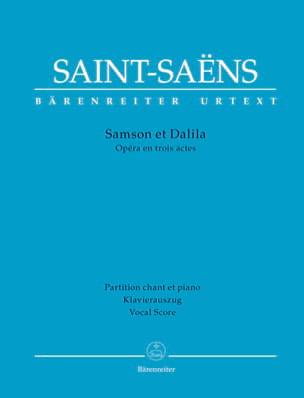 Samson et Dalila SAINT-SAENS Partition Opéras - laflutedepan