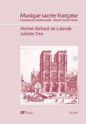 Jubilate Deo. Psaume 99 Michel-Richard de Lalande laflutedepan