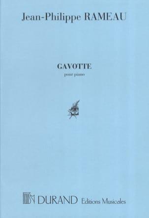 Gavotte Variée RAMEAU Partition Piano - laflutedepan