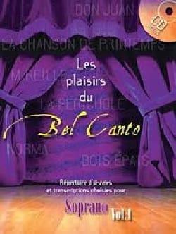 Les Plaisirs Du Bel Canto Soprano Volume 1 Partition laflutedepan