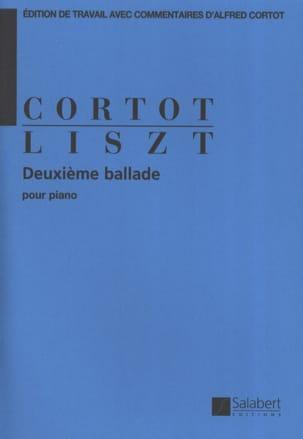 Ballade N° 2 LISZT Partition Piano - laflutedepan