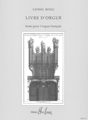 Livre d'Orgue - Lionel Rogg - Partition - Orgue - laflutedepan.com