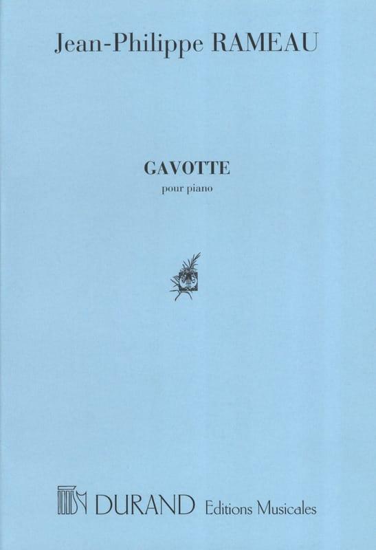 Gavotte Variée - RAMEAU - Partition - Piano - laflutedepan.com