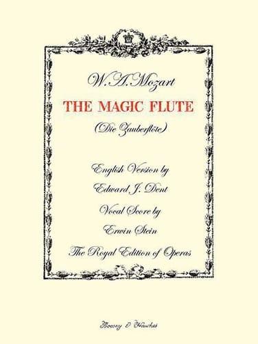 The Magic Flute K 620 - MOZART - Partition - Opéras - laflutedepan.com