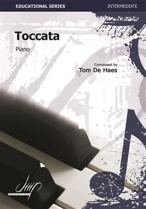 Toccata - Haes Tom De - Partition - Piano - laflutedepan.com