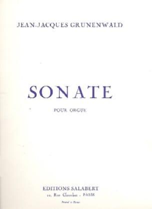 Sonate Pour Orgue - Jean-Jacques Grunenwald - laflutedepan.com