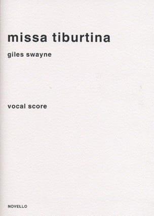 Missa Tiburtina Giles Swayne Partition Chœur - laflutedepan