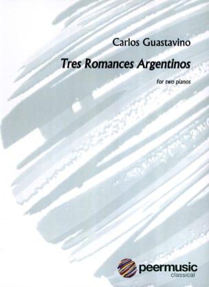 3 Romances. 2 pianos Carlos Guastavino Partition Piano - laflutedepan