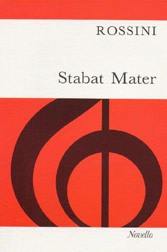 Stabat Mater - ROSSINI - Partition - Chœur - laflutedepan.com