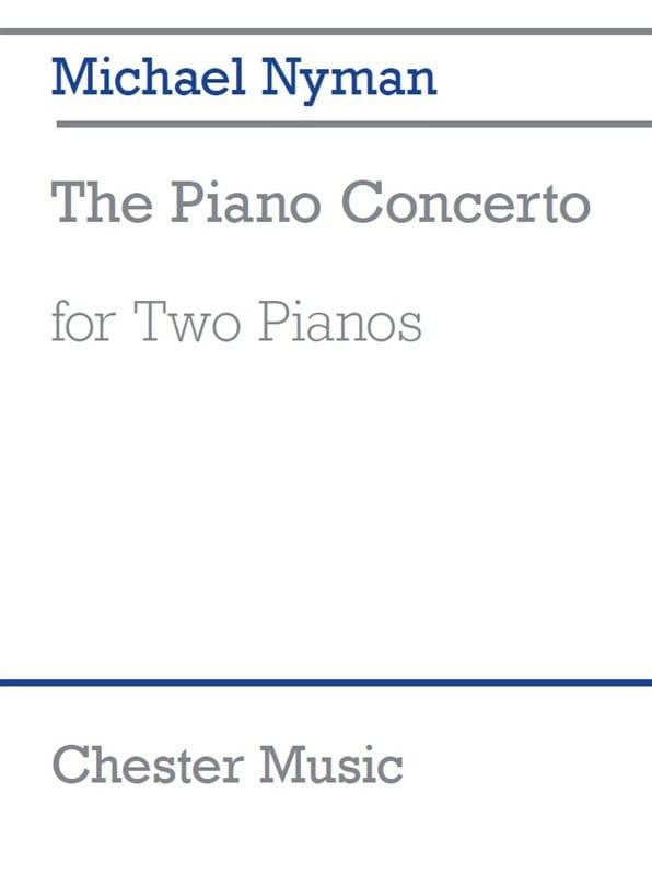 Concerto pour piano - Michael Nyman - Partition - laflutedepan.com