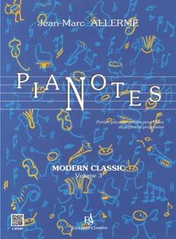 Pianotes Modern Classic Volume 3 Jean-Marc Allerme laflutedepan