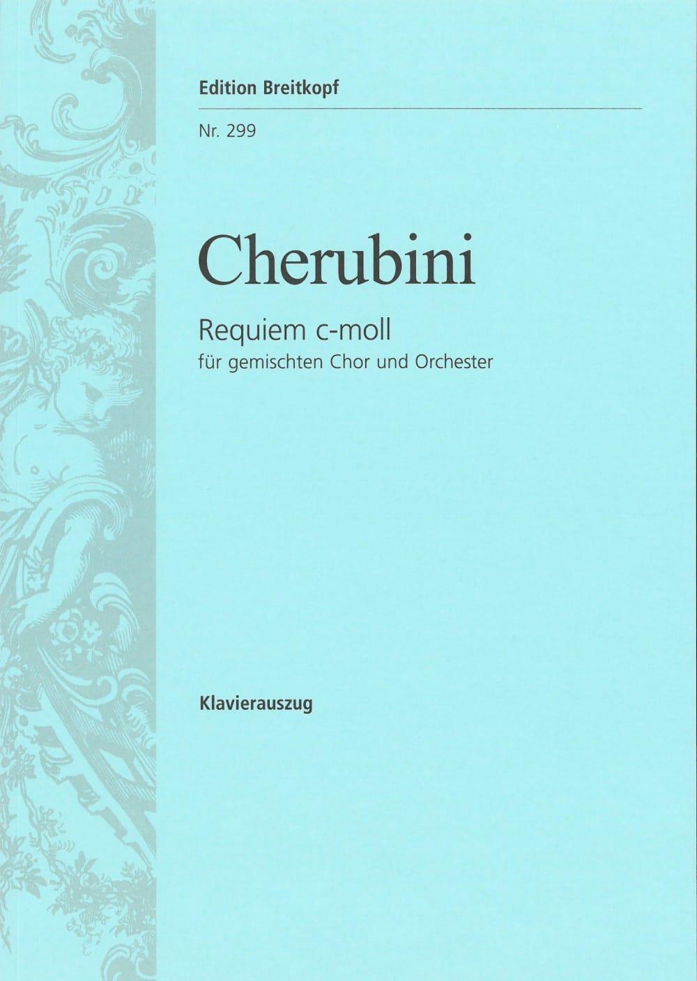 Requiem En Ut Mineur - CHERUBINI - Partition - laflutedepan.com
