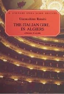Gioachino Rossini - La italiana en Algeri - Partition - di-arezzo.es