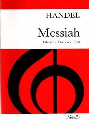 Le Messie HAENDEL Partition Chœur - laflutedepan
